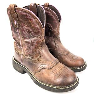 Justin Gypsy Boots Womens L9903 Leather Boots 7
